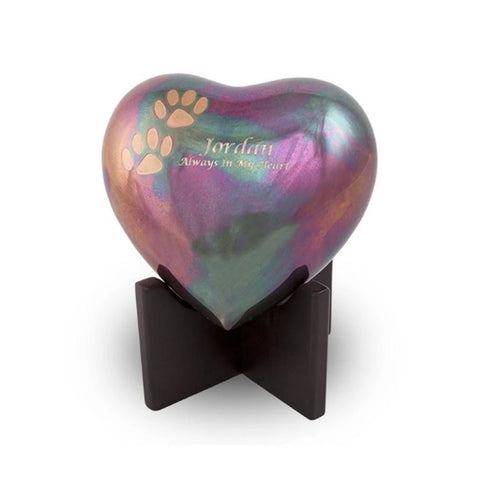 Arielle Heart Pet Cremation Urn