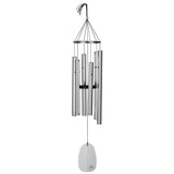 Bells of Paradise Wind Chime in Silver