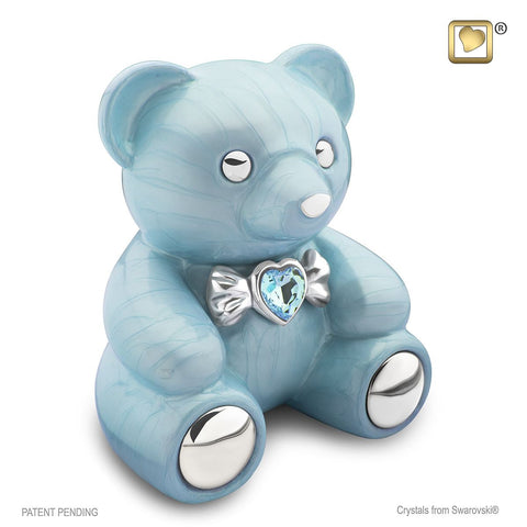 CuddleBear™ Cremation Urn in Blue