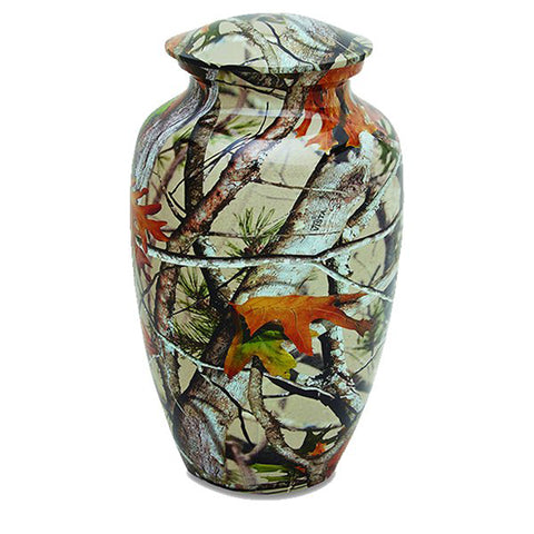 Camouflage Adult Urn
