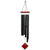 Encore Chimes of Earth Wind Chime in Black