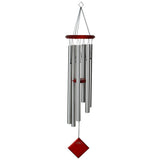 Memorial Wind Chime - Encore Chimes of Earth in Silver