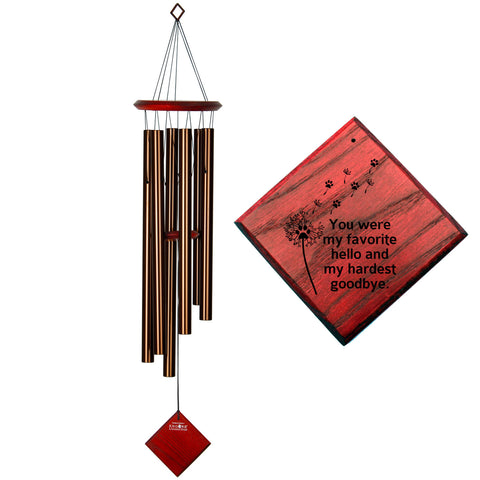 Encore Chimes of Earth Wind Chime in Bronze