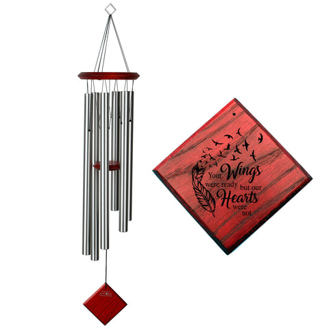 Encore Chimes of Earth Wind Chime in Silver