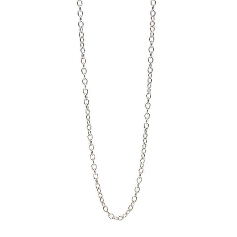 Sterling Silver Link Chain – 18 Inches