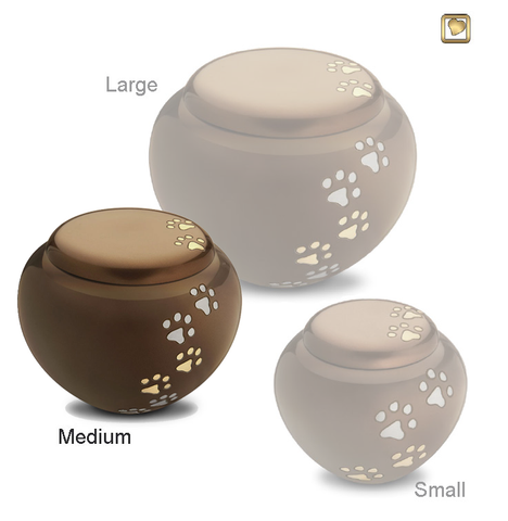 Bronze Cuddle™ Pet Urn - Medium