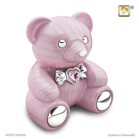 CuddleBear™ Cremation Urn in Pink