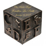 Precious Infant Baby Block Cremation Urn