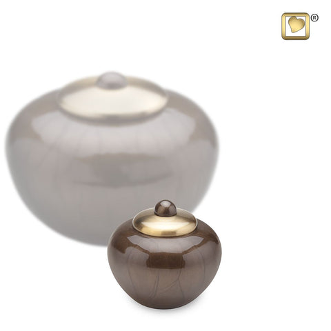 Simplicity™ Round Keepsake Urn in Bronze