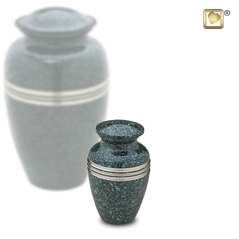Speckled™ Emerald Keepsake Urn