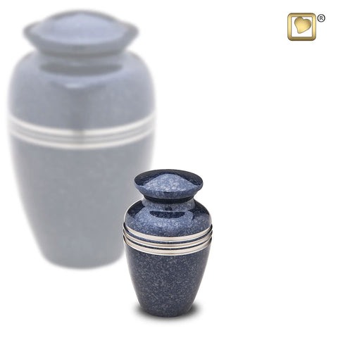 Speckled™ Indigo Keepsake Urn