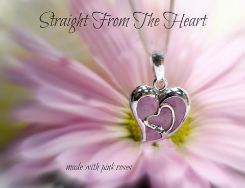 Memorial Straight From the Heart Necklace