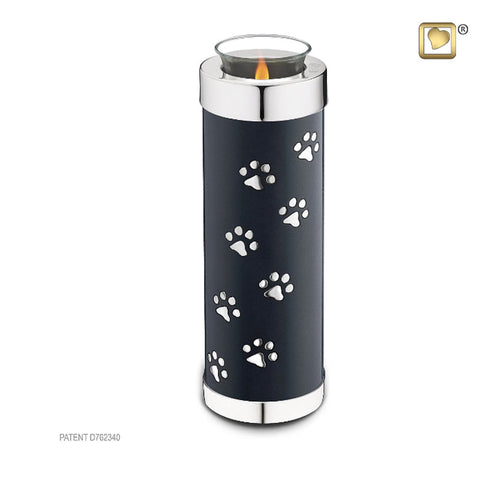 Tealight Pet Urn Midnight Tall