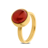 Women's Gemstone Gold Cremation Urn Ring by TadBlu