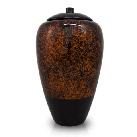 Tall Bamboo Cremation Urn