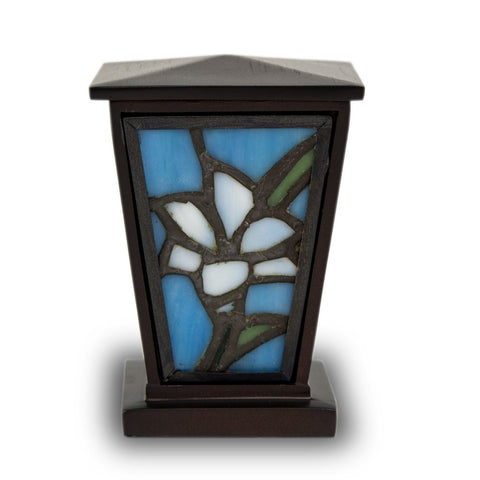 Stained Glass Keepsake Urn
