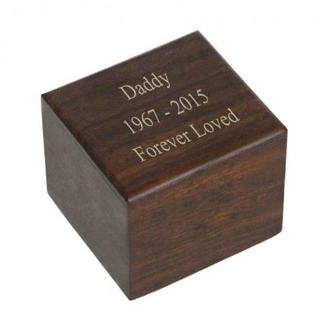 Windsor Wood Keepsake Urn