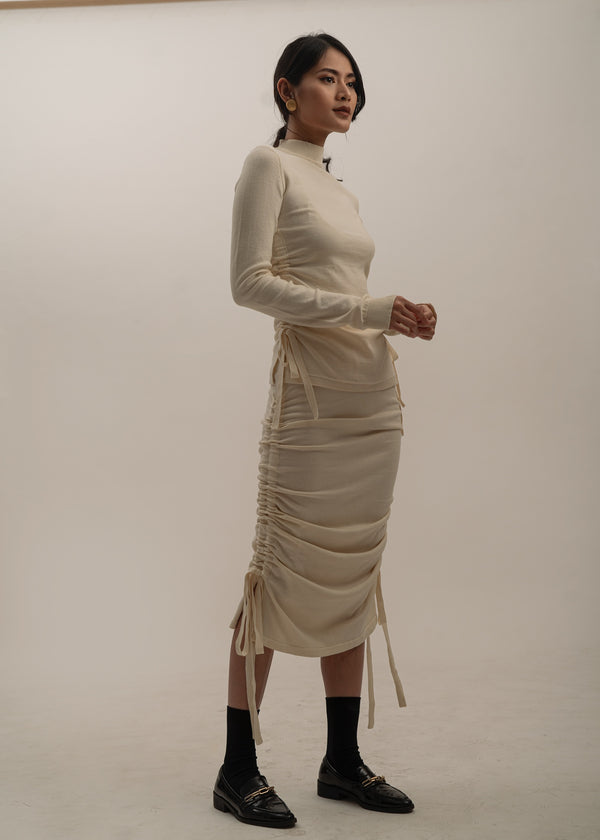 Sagittaire Skirt in Ivory