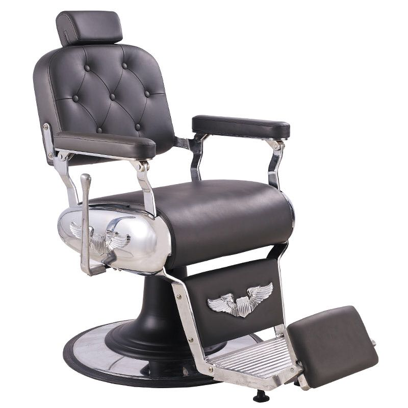 Pleasant Remus Barber Chair Black Gmtry Best Dining Table And Chair Ideas Images Gmtryco