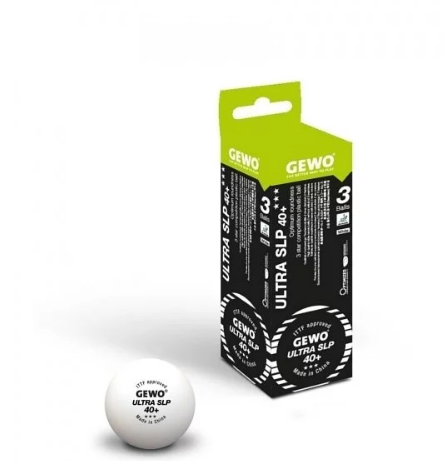 Gewo 3 Star Ultra SLP 40+ Poly Ball