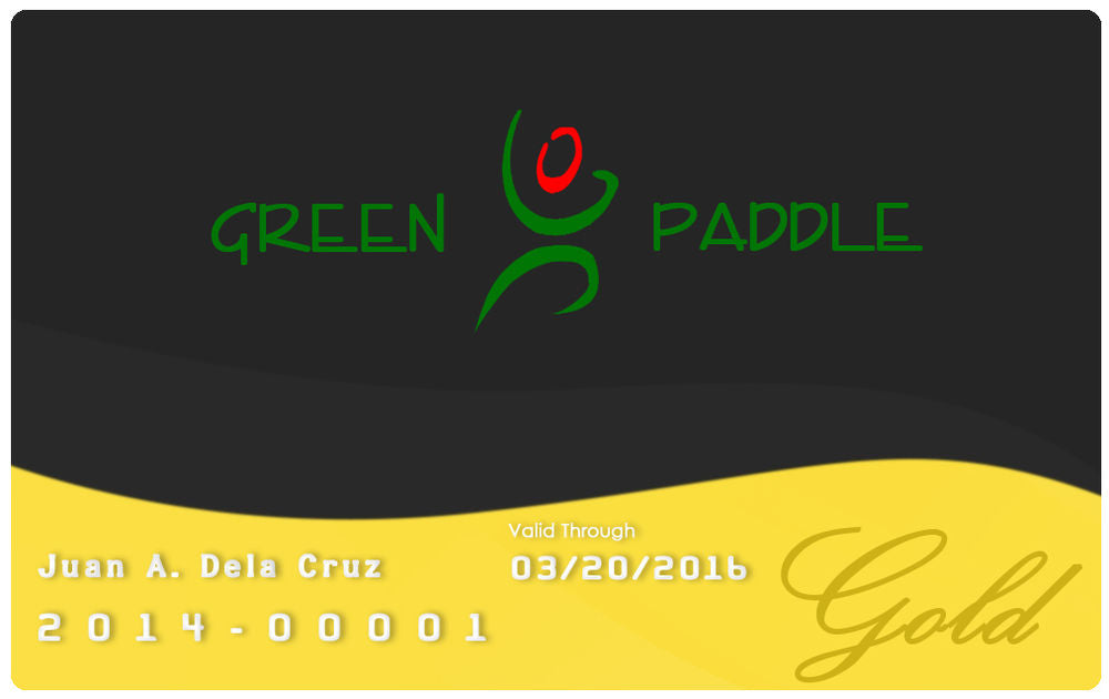 Green Paddle VIP Gold Membership