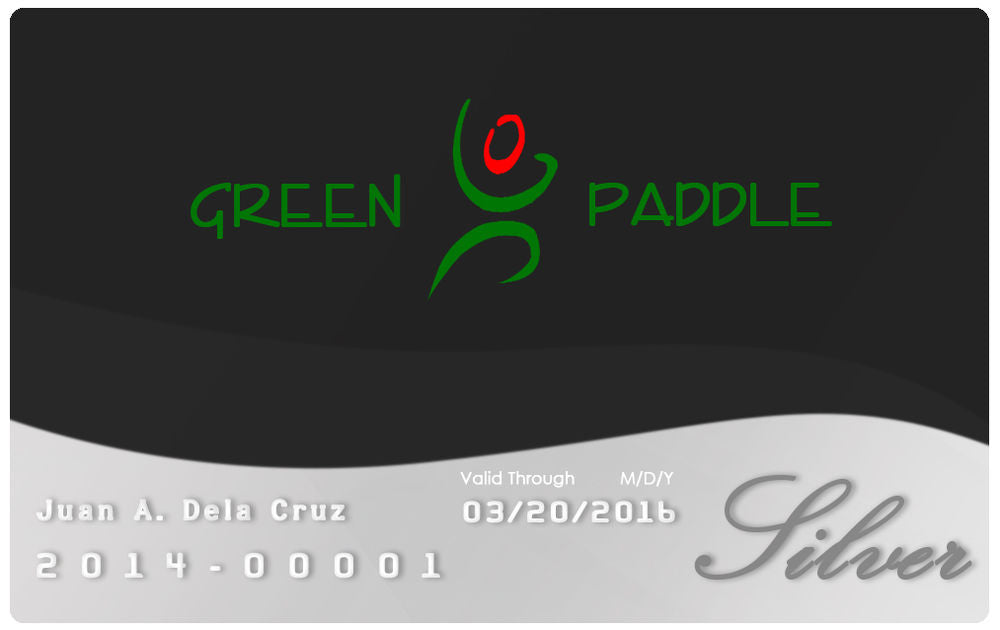 Green Paddle VIP Silver Membership