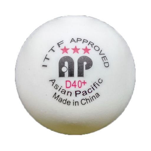 Asia Pacific 3 Star D40+ Poly Ball