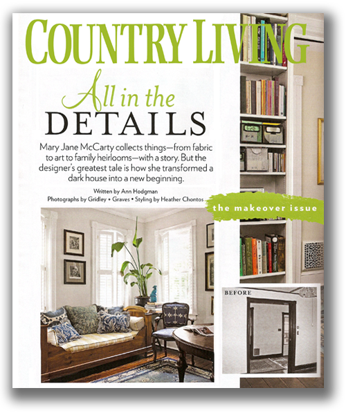 Country Living A Home Makeover with Antique Decor