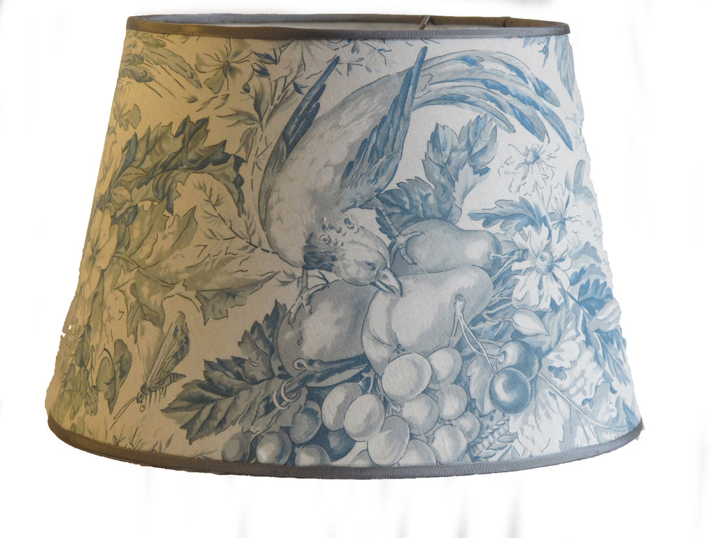 Handmade toile lampshade by mary jane mccarty