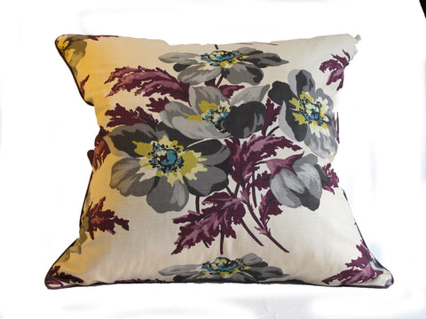 Antique textile handmade pillow