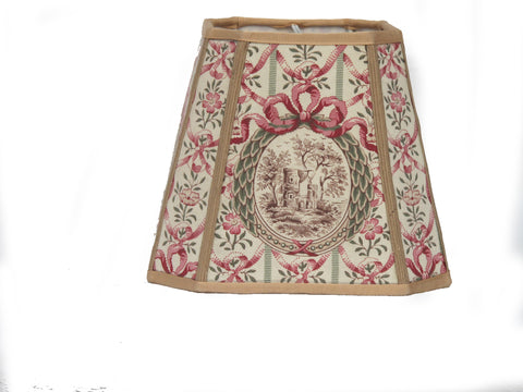 19th C. fabric Lampshade II