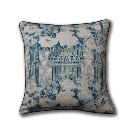 Columns Pillow/Indigo
