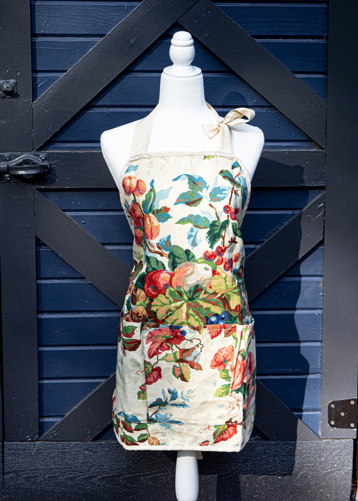 Floral Work Apron