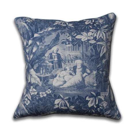 HaremA Pillow/Indigo