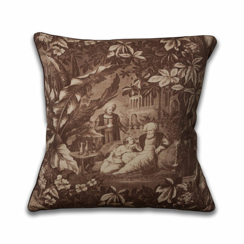 HaremA Pillow/Sepia