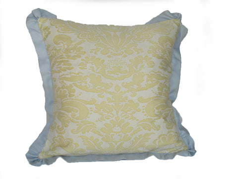 Fortuny fabric pillow by mary jane mccarty