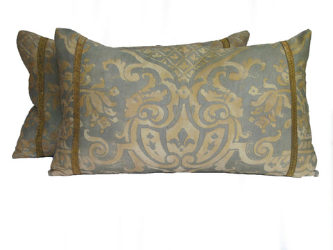 vintage Fortuny pillow by mary jane mccarty