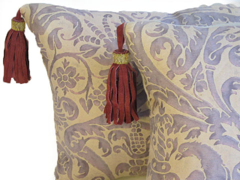 Vintage Fortuny Pillows
