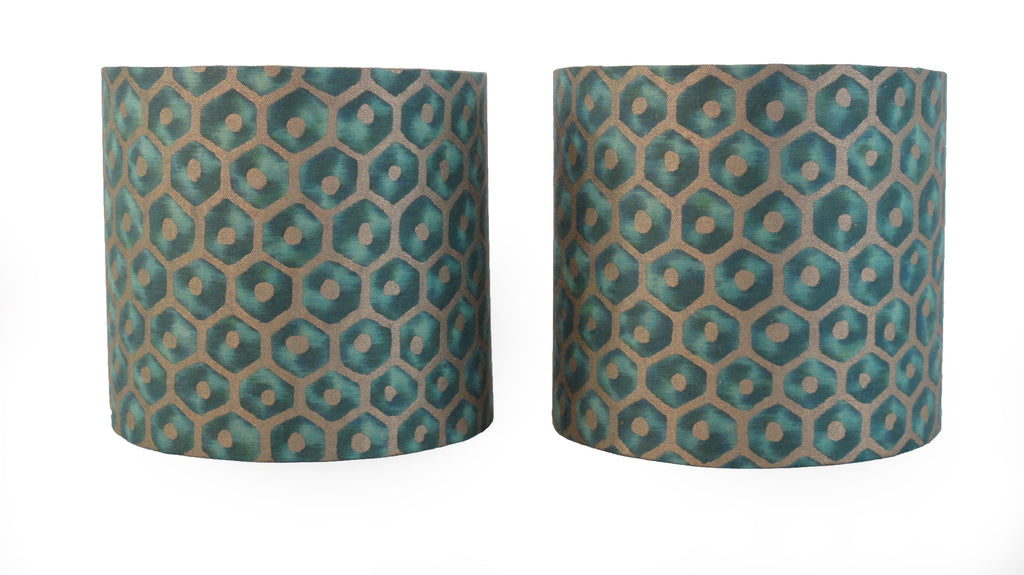 Fortuny Favo Sconce Shades