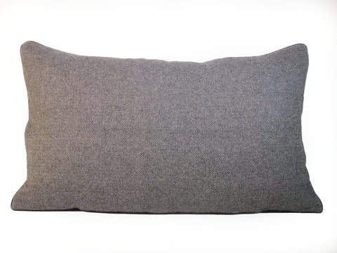 Wool  Man's Suiting Pillow