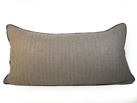 Cashmere Man's Suiting Pillow
