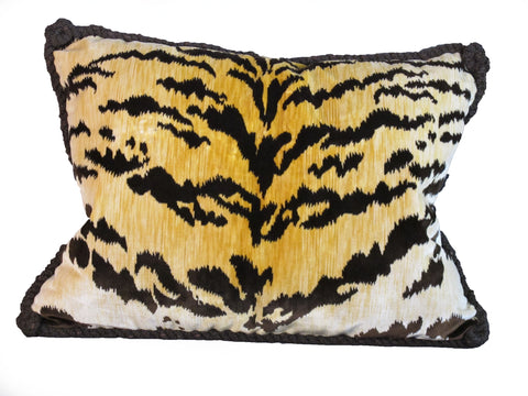 Bevilaqua Tiger Stripe Pillow