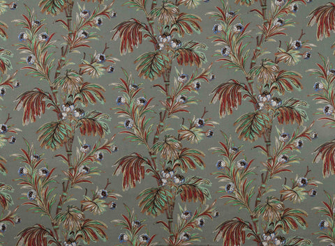 Indienne slate New Vintage fabric by Mary Jane McCarty