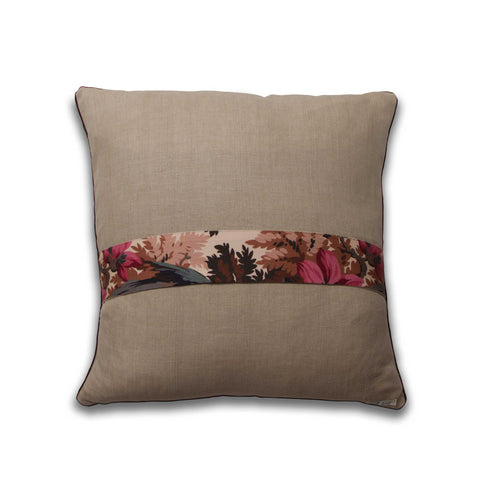 Mary Jane McCarty New Vintage fabric pillow, back