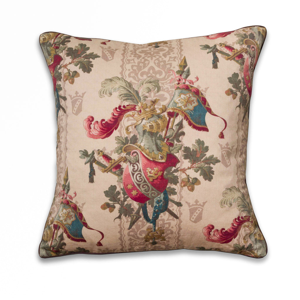 Lancelot New Vintage Collection pillow in ivory