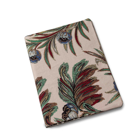 Indiennes Notebook Cover-Ivory/Multi