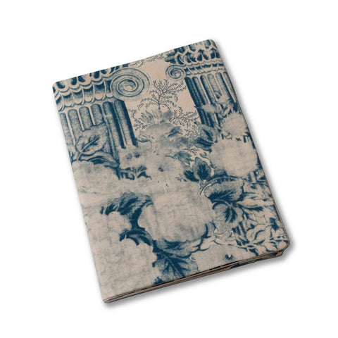 Columns Notebook Cover-Indigo