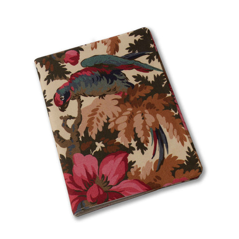 Jungle Parrots Notebook Cover-Coco