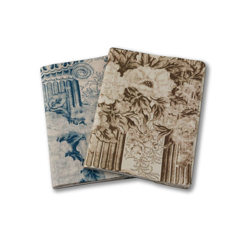 Mary Jane McCarty New Vintage fabric notebook