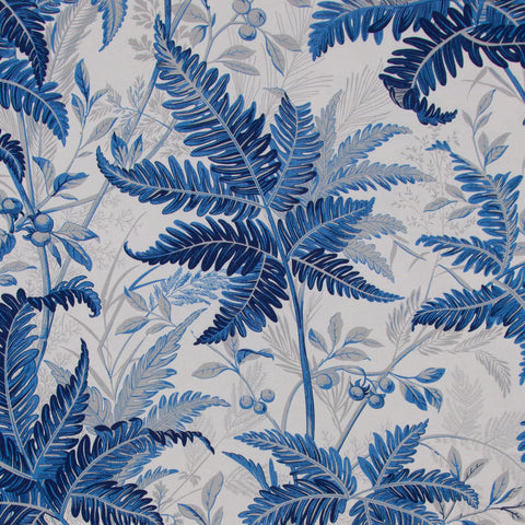 Tropic Leaves/Indigo